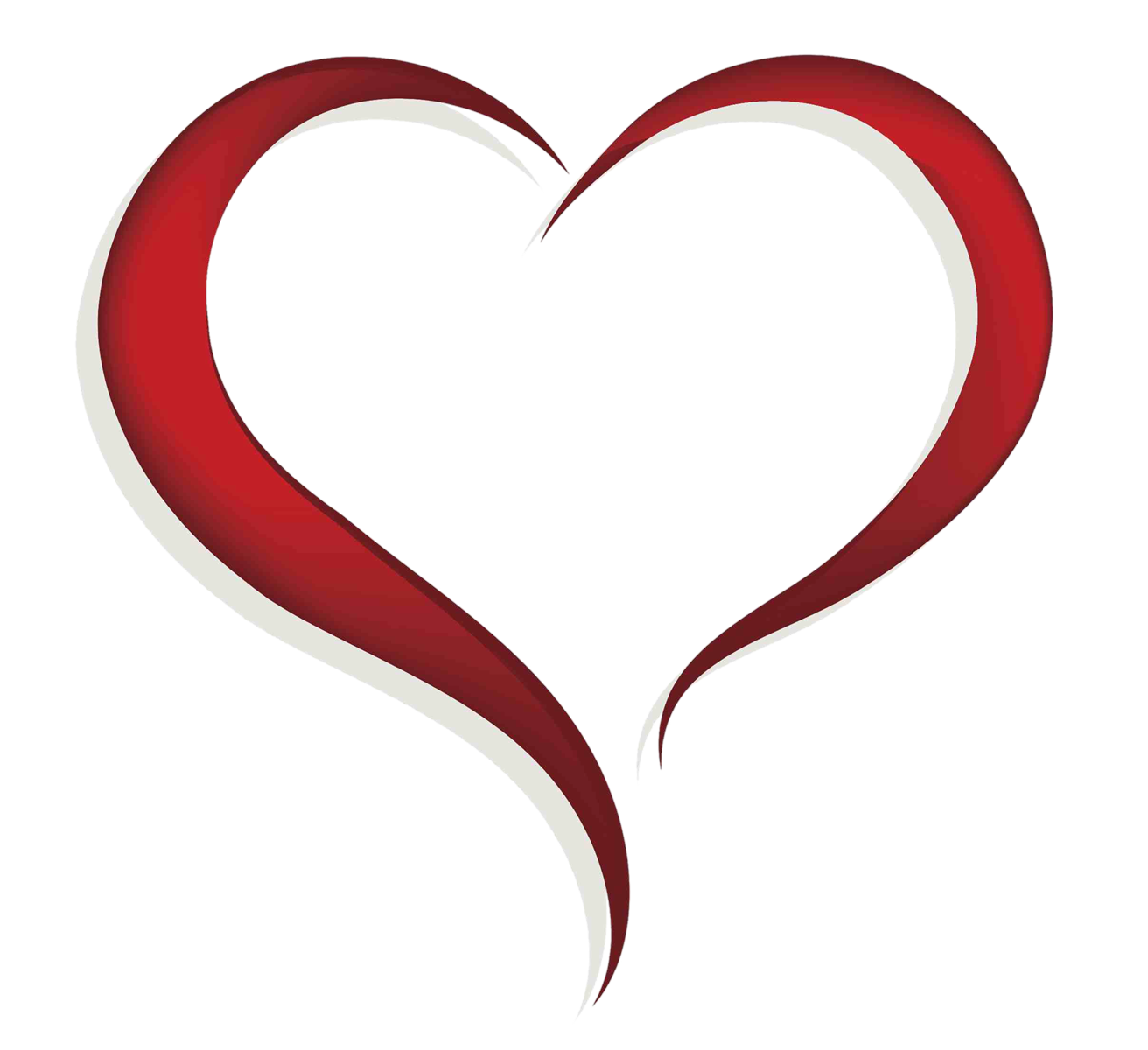 Heart Transparent Clipart - Clipart Kid