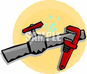 how to fix a pipe wrench