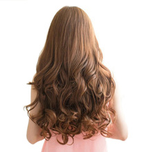 New 29 Women Ladies Long Curly Wavy 6 Clips In On Hair Extensions