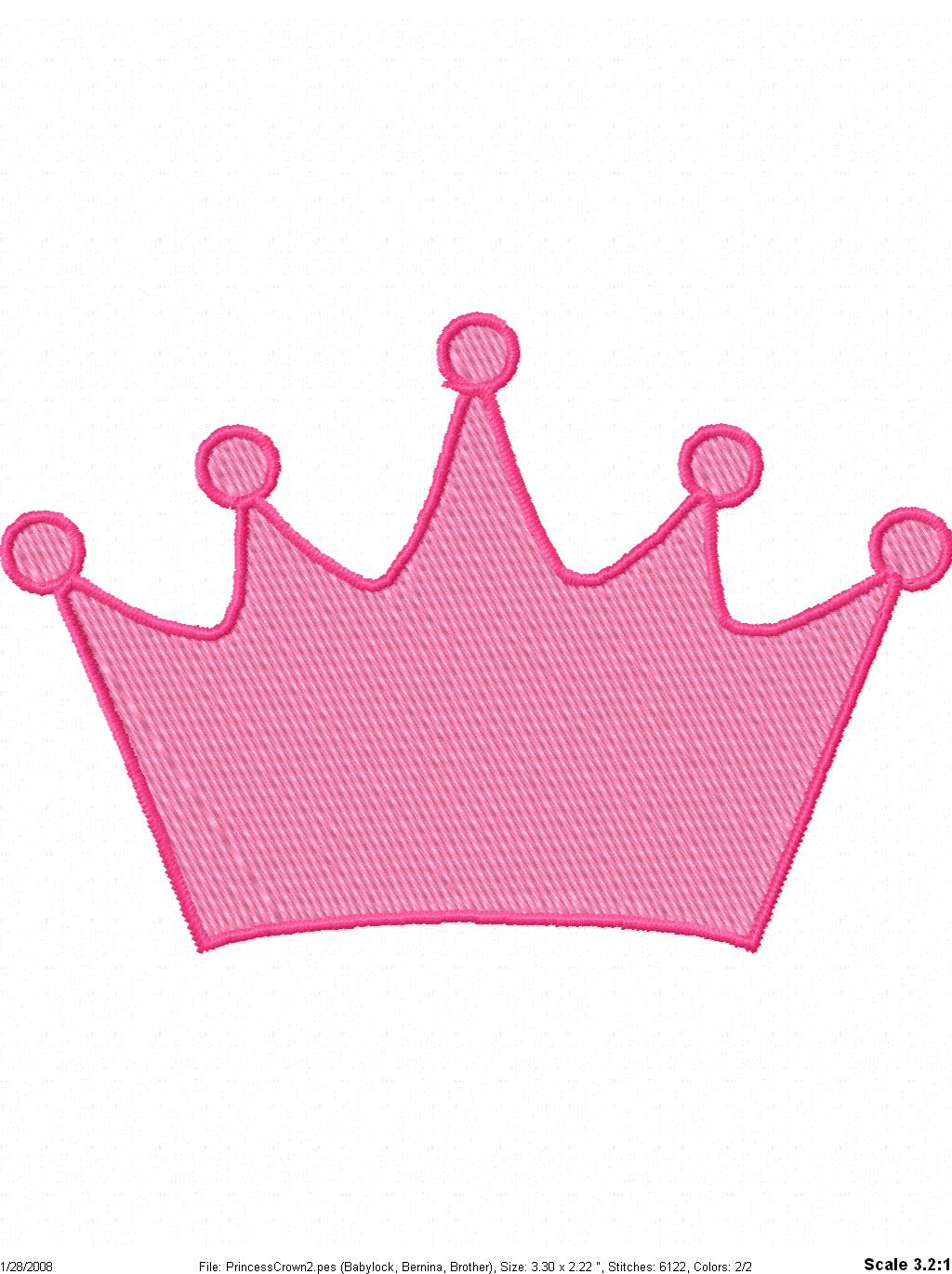Pink crown clipart - photo#24