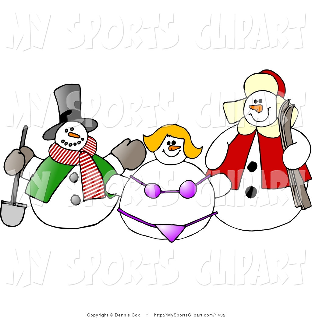 snow woman clipart - photo #4