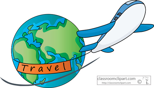 vacation airplane clip art - photo #10