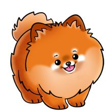Dogs On Pinterest   Cocker Spaniel Clip Art And Pomeranians