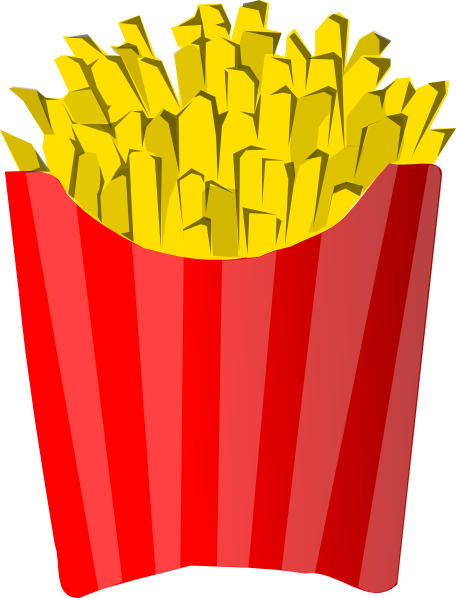 French Fries Clip Art At Clker Com   Vector Clip Art Online Royalty