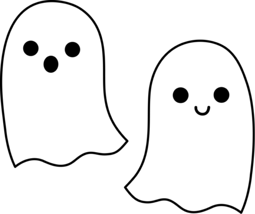 Ghost Outline Clip Art   Clipart Panda   Free Clipart Images