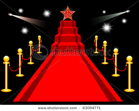 Hollywood Red Carpet Clipart