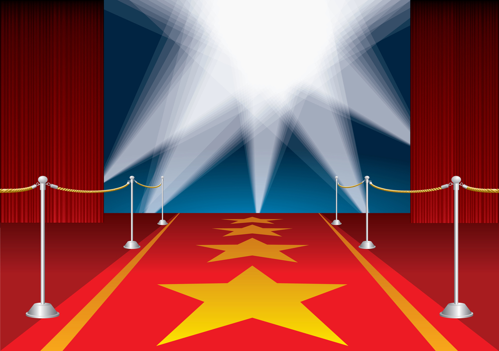 Image result for free clip art a night on the red carpet