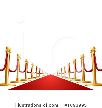 Red Carpet Clipart  1093995 By Geo Images   Royalty Free  Rf  Stock