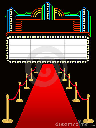 Red Carpet Event Clip Art