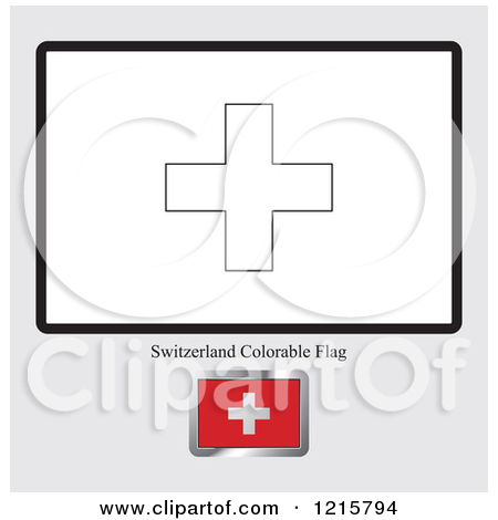 Royalty Free  Rf  Swiss Flag Clipart   Illustrations  1