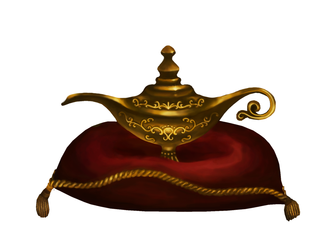 Magic Genie Lamp Clipart Clipart Suggest