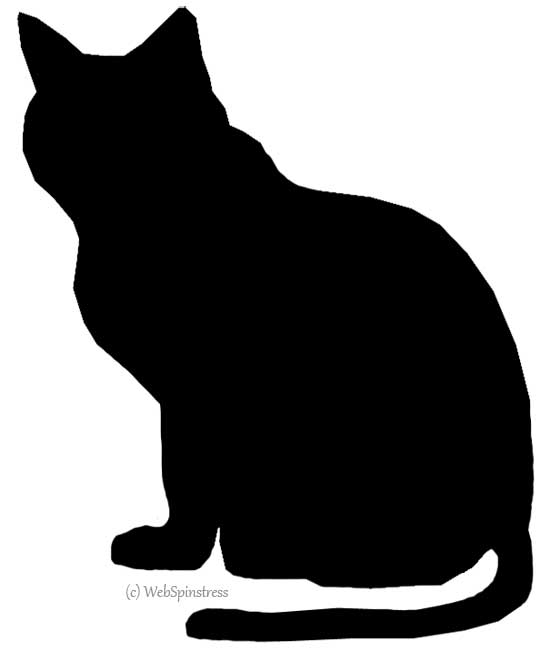 16 Cat Silhouette Pattern Free Cliparts That You Can Download To You