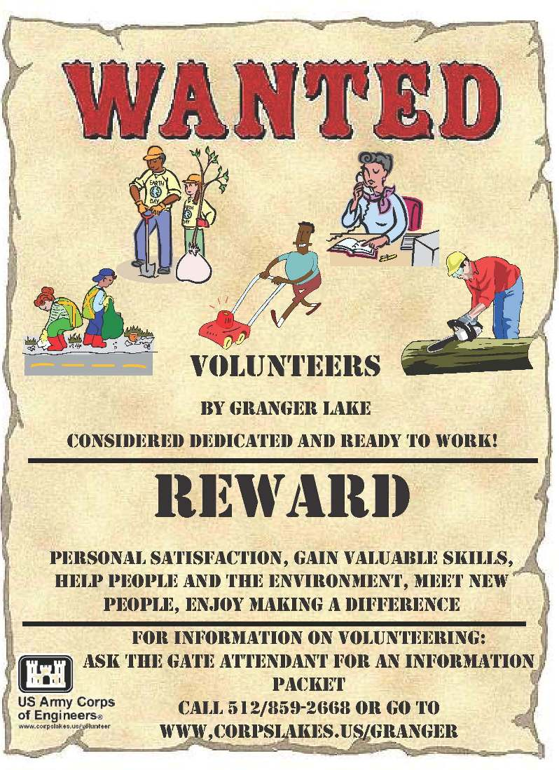 Wanted Volunteer Clipart - Clipart Kid