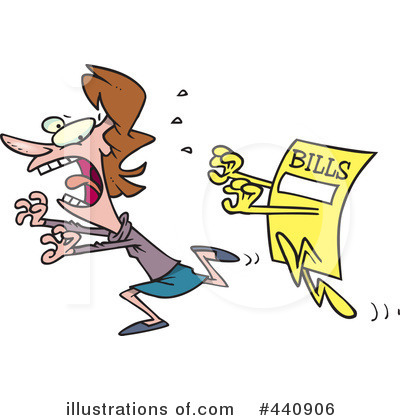 Bill Clipart  440906 By Ron Leishman   Royalty Free  Rf  Stock