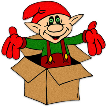 Free Christmas Clipart   Christmas Elf Clipart