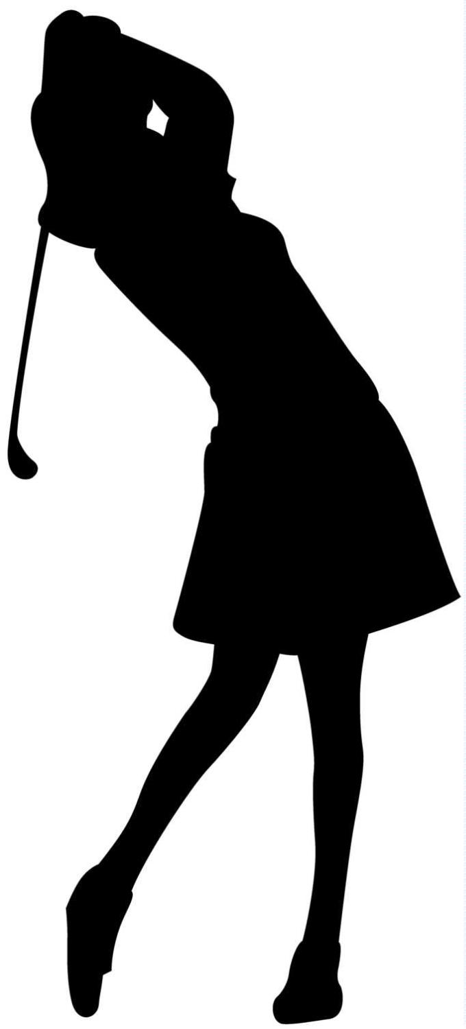 Girl Golf Clip Art Girlgolfshadow Jpg  680 1500    Golf   Pinterest