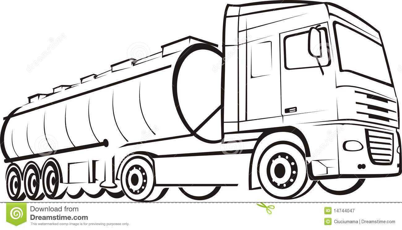 milk trucks coloring pages - photo#29