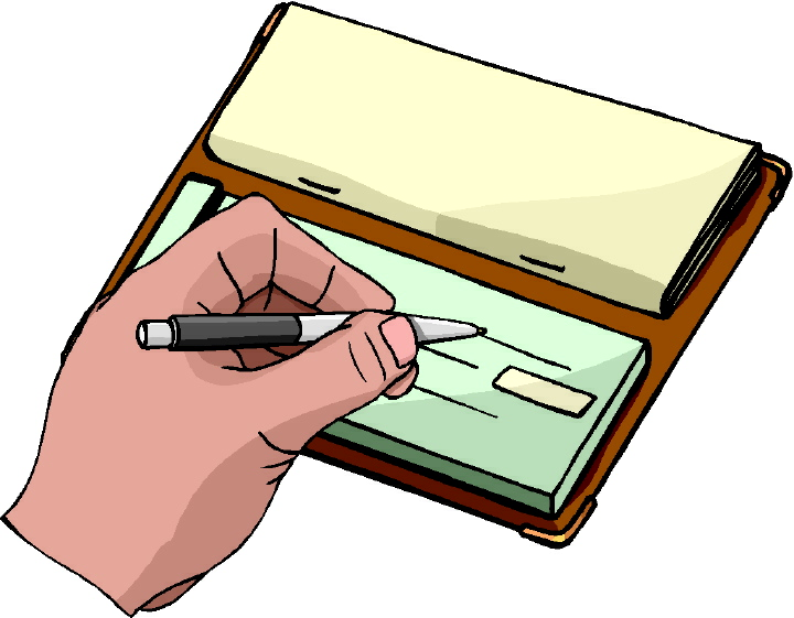 writing a check pay to the order of cash