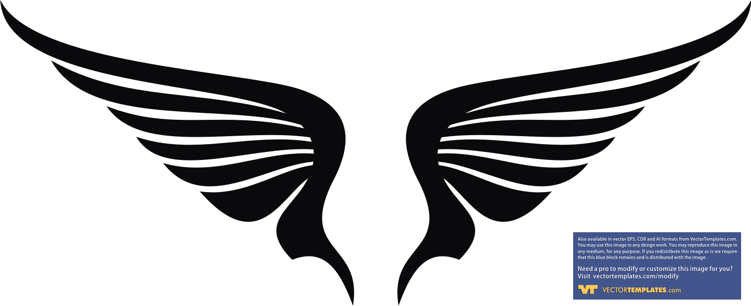 Wings   Free Images At Clker Com   Vector Clip Art Online Royalty