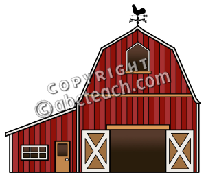 Color Barnyard Illustration Barn Farm Clip Art Member Site Document
