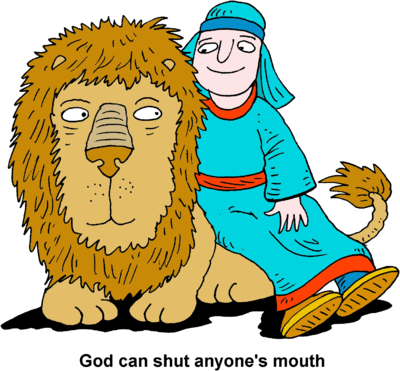 Daniel And The Lion   Daniel Clip Art   Christart Com