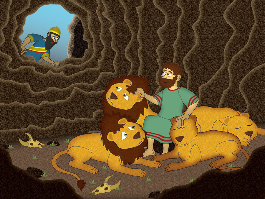 Daniel In The Lion S Den By Ericbdg On Deviantart