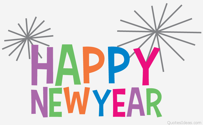 Happy New Year 2016 Clipart
