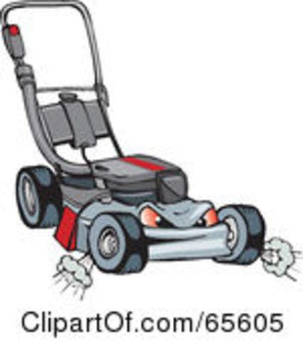 Push Mower Clipart - Clipart Kid