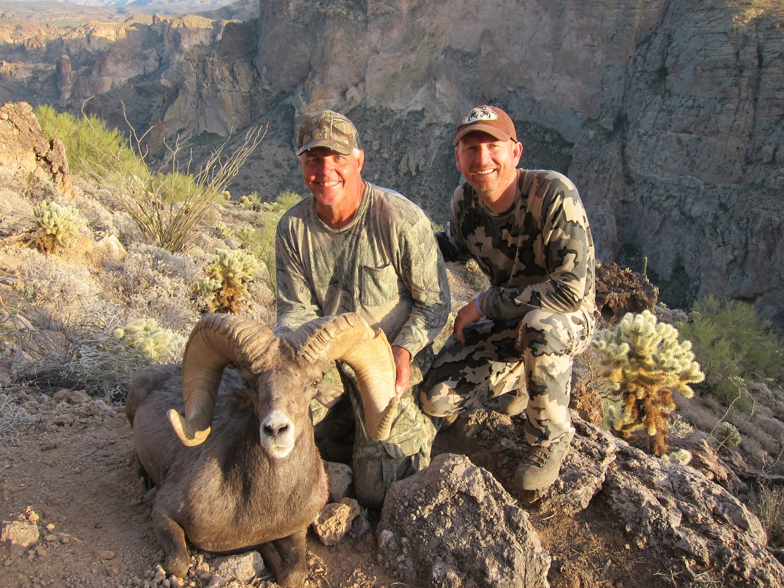 Meeske And His Giant Arizona Desert Unit 22 Ram  Net Score 186 1 8