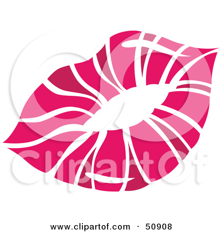 Royalty Free  Rf  Clipart Illustration Of Women S Lips   Version 6 By