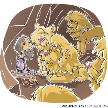 Today S Christian Clip Art  Daniel In The Den Of Lions