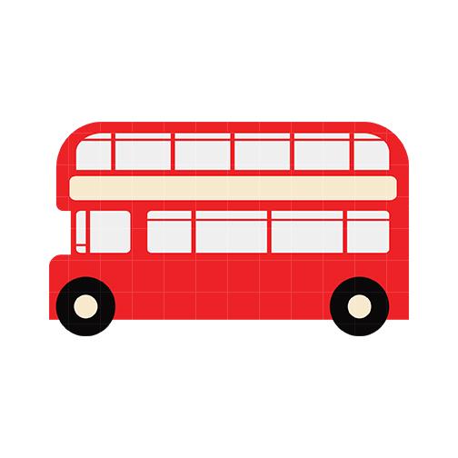 london bus clipart
