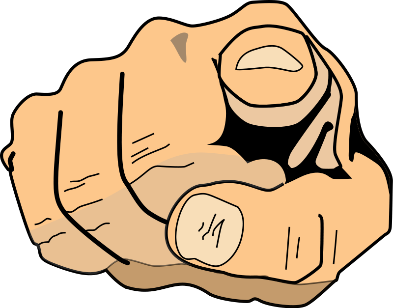 Clip Art Middle Finger   Cliparts Co