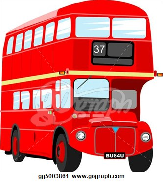 London Bus Images Clip Art   Picturespider Com