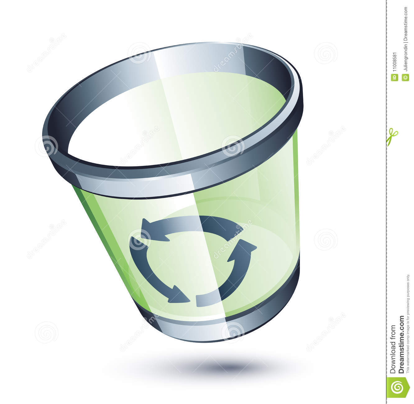 More Similar Stock Images Of   Transparent Trash Can