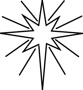 North Star Clip Art   Clipart Best
