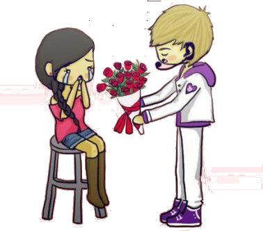 One Less Lonely Girl Chibi Png By Callielaing On Deviantart