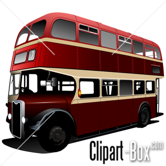 Related London Bus Cliparts