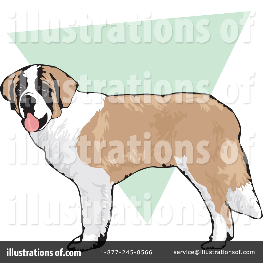 Royalty Free  Rf  Dogs Clipart Illustration By David Rey   Stock