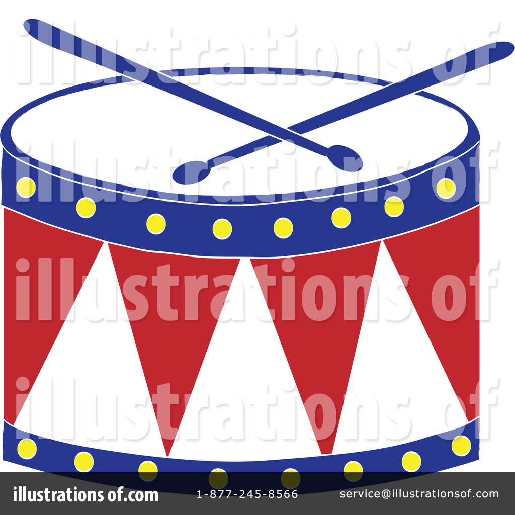 Royalty Free  Rf  Drum Clipart Illustration By Pams Clipart   Stock
