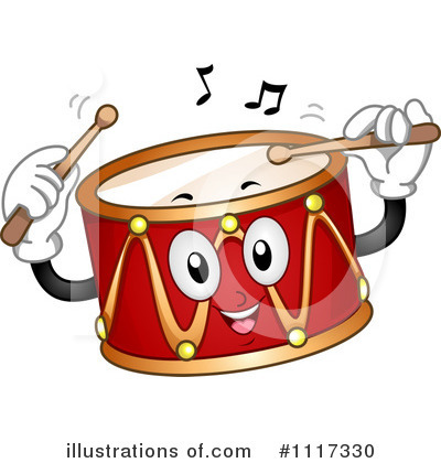 Royalty Free  Rf  Drums Clipart Illustration  1117330 By Bnp Design