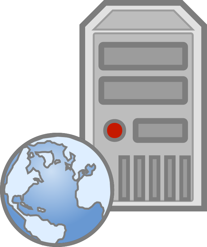 Server   Web By Cyberscooty   A Web Server Icon