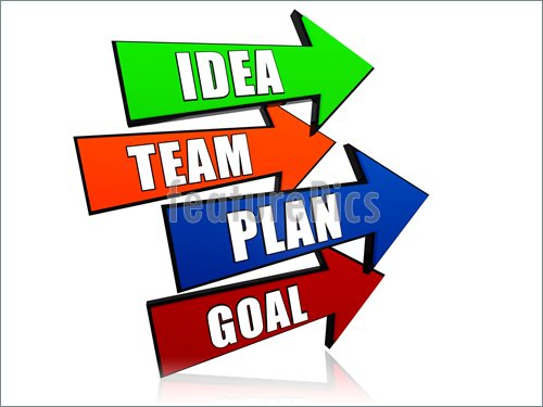 Team Business Goal Clip Art
