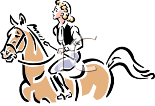 Vintage Equestrian English Style Clip Art Clipart Image   Free Images