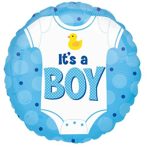 18 Inch Discount Baby Boy Onesie Balloon