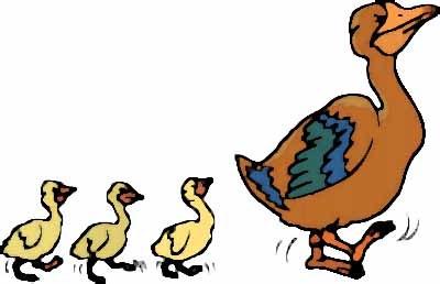 Blue Ducks Clipart - Clipart Kid