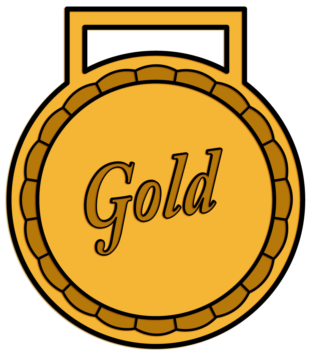 Gold Medal Clipart - Clipart Suggest