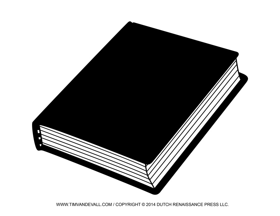 Book Clipart Black And White Free Image Galleries   Imagekb Com