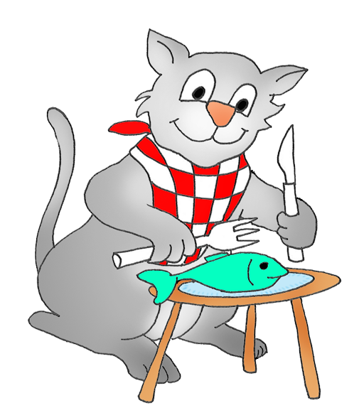 animals eating clipart - photo #5