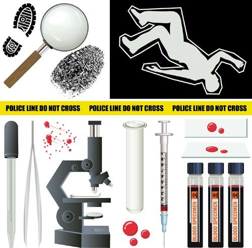 Crime Investigator Clip Art